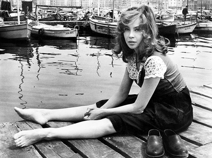 leslie caron 1960s, filming 1961 movie fanny, french actress, ballet dancer