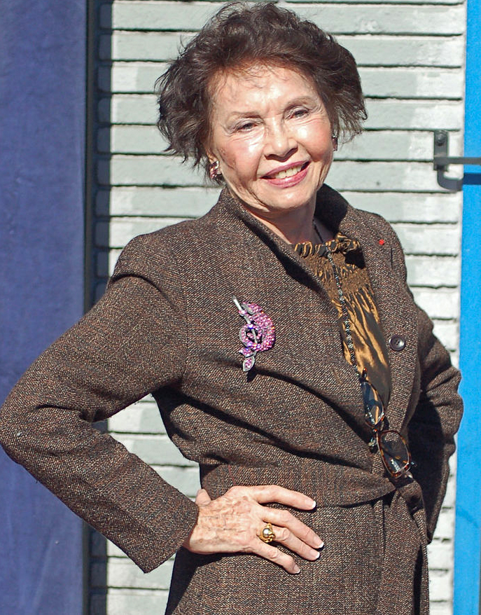 leslie caron 2009, french actress, movie star, hollywood walk of fame