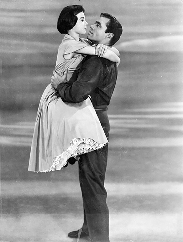 leslie caron 1953, mel ferrer, french actresses, american actors, 1950s movie musicals, lili stars