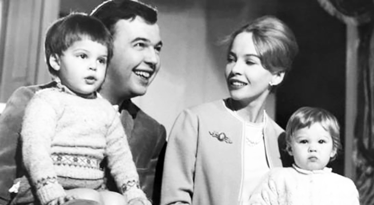 leslie caron 1959, french actress, leslie caron family, leslie caron husband peter hall, leslie caron son christopher hall, jennifer hall