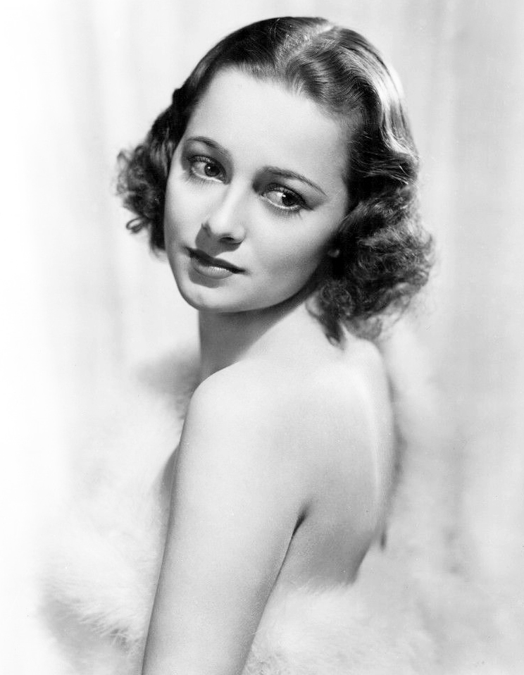 olivia de havilland 1938, english american actress, 1930s movie star, 19540s films