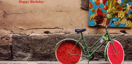 happy birthday wishes, birthday cards, birthday card pictures, famous birthdays, florence italy, italian art, street art, bicycle art