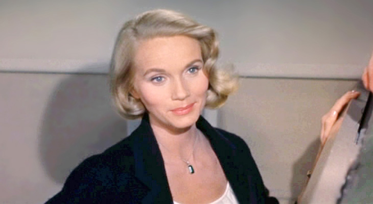 eva marie saint 1959, american actress, cary grant costar, alfred hitchcock blondes, 1950s movies, north by northwest, eva marie saint younger
