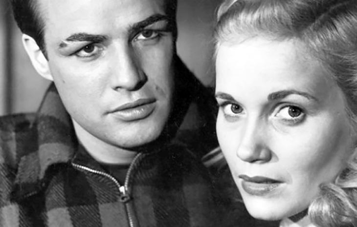 eva marie saint 1954, american actress, marlon brando, actors, 1950s movies, on the waterfront,