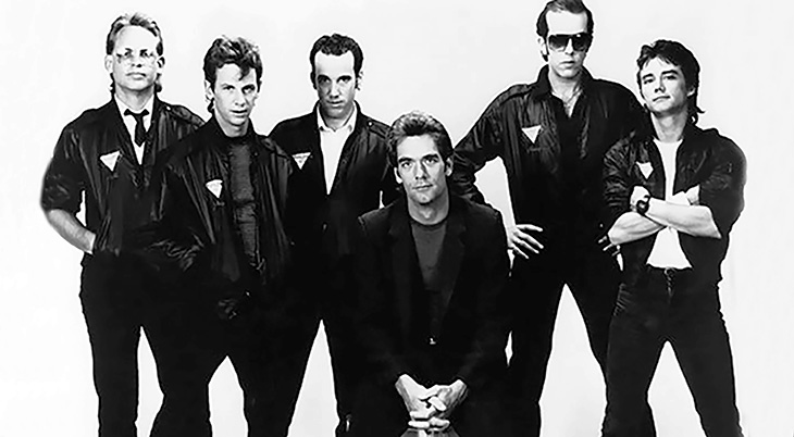 huey lewis 1983, huey lewis and the news, american rock singer, songwriter, harmonica player, 1980s rock bands, bill gibson, johnny colla, sean hopper, mario cipollina, chris hayes, 1980s rock albums, sports album, 1980s hit rock singles, i want a new drug, the heart of rock and roll, if this is it, walking on a thin line, huey lewis younger