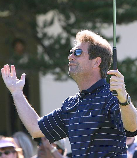 huey lewis 2006 nee hugh anthony cregg iii, huey lewis golfing, american rock singer, songwriter, harmonica player, 1980s rock bands, huey lewis and the news, 1980s rock albums, sports album, 1980s hit rock singles, i want a new drug, the heart of rock and roll, if this is it, walking on a thin line, huey lewis middle aged, the power of love, back in time, while were young, born july 5 1950,