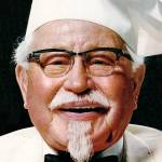 colonel sanders 1966, nee harland sanders, kentucky fried chicken founder, kentucky fried chicken brand ambassador, kfc, pressure fried chicken recipes, secret recipe of spices for chicken, american businessmen, american restauranteurs, early restaurant franchises, fast food pioneer, nonagenarian birthdays, senior citizen birthdays, 60 plus birthdays, 55 plus birthdays, 50 plus birthdays, over age 50 birthdays, age 50 and above birthdays, celebrity birthdays, famous people birthdays, september 9th birthdays, born september 9 1890, died december 16 1980, celebrity deaths