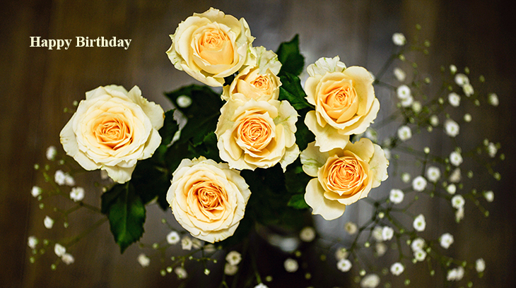 happy birthday wishes, birthday cards, birthday card pictures, famous birthdays, yellow roses, yellow flowers,