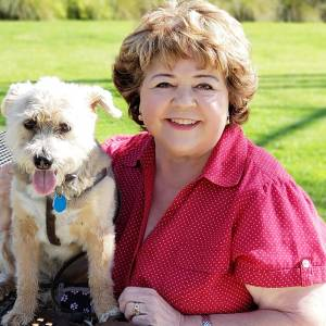 patrika darbo 2010s, actress patrika darbo, american character actress, celebrity pet lovers, famous dog lovers, pet adoption advocate, full figured actresses, patrika darbo and her dog, adopted terrier mix dog