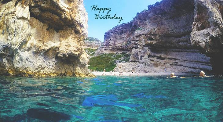 happy birthday wishes, birthday cards, birthday card pictures, famous birthdays, nature scenery, water, croatia, unnamed road
