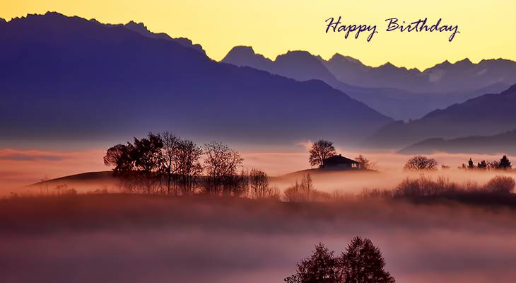 happy birthday wishes, birthday cards, birthday card pictures, famous birthdays, sunset, sunrise, nature scenery