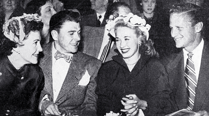 1950, jane powell, american actors, actresses, movie stars, ronald reagan, nancy davis, geary steffen, celebrity couples, classic films