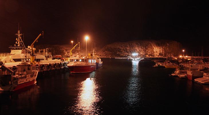 stykkisholmur harbour, western iceland towns