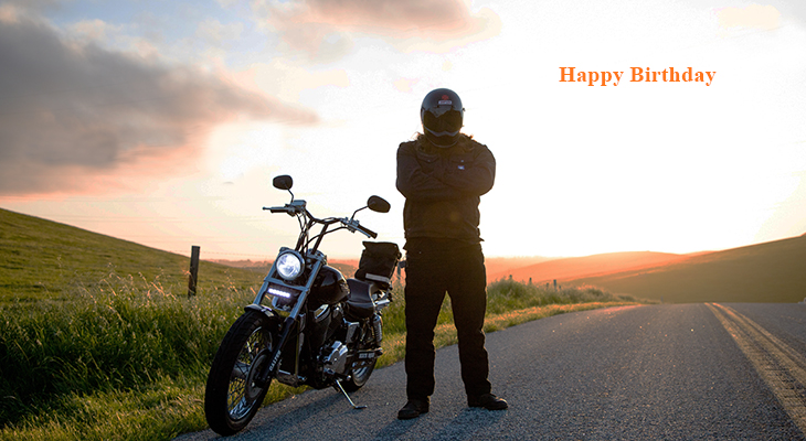 happy birthday wishes, birthday cards, birthday card pictures, famous birthdays, motorcycle, biking, san luis obispo, nature scenery, sunset