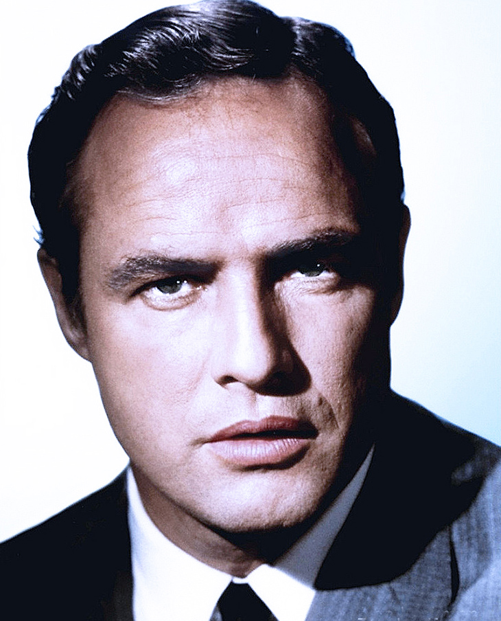 marlon brando younger, american actor, blue eyed movie star, 1950s movies, julius caesar, on the waterfront, a streetcar named desire, 1960s films, guys and dolls, the chase, bedtime story