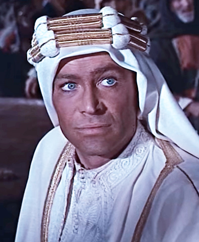peter o'toole 1962, english , blue eyed movie stars, 1960s films, lawrence of arabia, oscar nominations, academy award best actor nomination