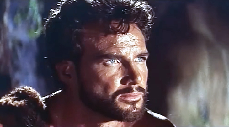 steve reeves 1958, american bodybuilder, mr world 1948, mr universe 1950, actor, 1950s movies, hercules unchained