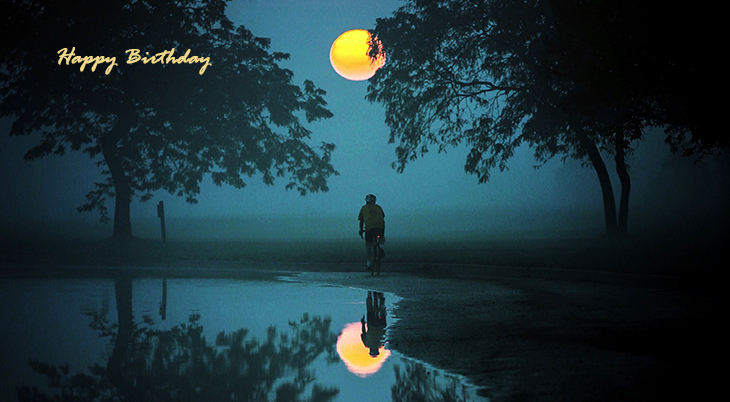 happy birthday wishes, birthday cards, birthday card pictures, famous birthdays, stars, moon, detroit, bicycling, bike