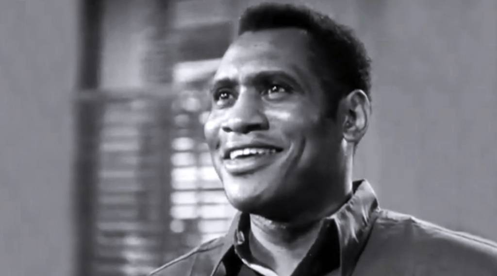 paul robeson 1933, african american actors, black film stars, bass baritone singer, 1930s movies, the emperor jones