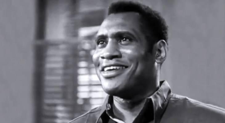 paul robeson 1933, african american actors, black film stars, bass baritone singer, 1930s movies, the emperor jones
