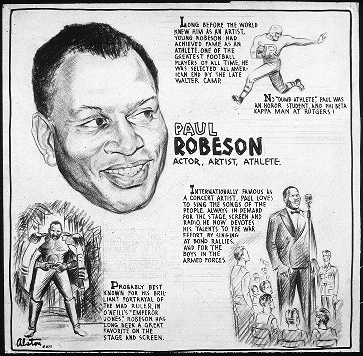 paul robeson, african american actor, emperor jones movie, black football players, civil rights activist,