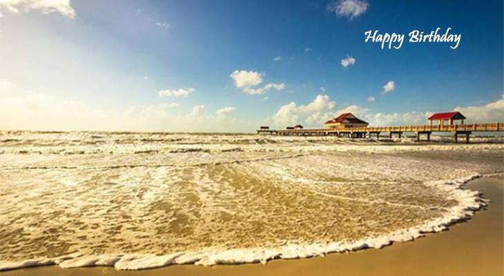 happy birthday wishes, birthday cards, birthday card pictures, famous birthdays, beach, pier, clearwater, florida, ocean, buildings