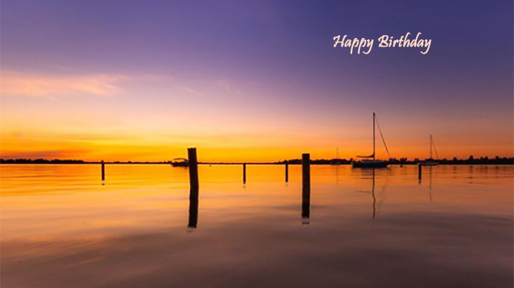 happy birthday wishes, birthday cards, birthday card pictures, famous birthdays, sailboat, sunset, kingston, lake ontario