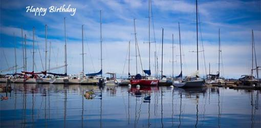 happy birthday wishes, birthday cards, birthday card pictures, famous birthdays, lake ontario, sailboats, kingston