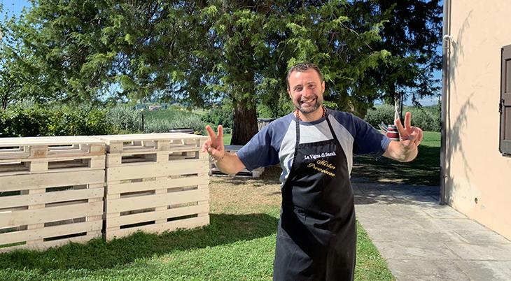 la vigna di sarah winery, vittorio veneto, treviso italy, chef michael esposito, prosecco wine region