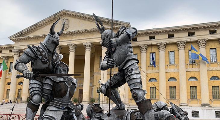 verona arena, verona italy coliseum, italian opera houses, il trovatore opera prop, verona italy attractions, iron soldiers opera prop, middle east operas