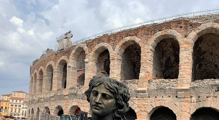 verona arena, verona italy coliseum, italian opera houses, tosca opera prop, verona italy attractions