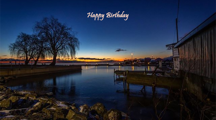 happy birthday wishes, birthday cards, birthday card pictures, famous birthdays, sunset, buildings, kingston, lake ontario