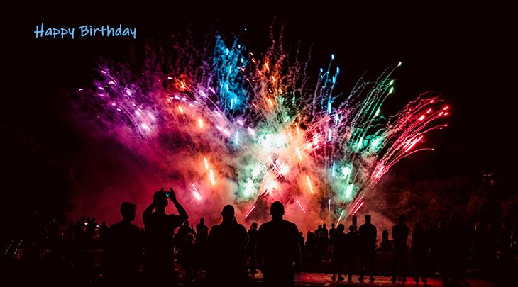 happy birthday wishes, birthday cards, birthday card pictures, famous birthdays, fireworks, westfalenpark, dortmund germany