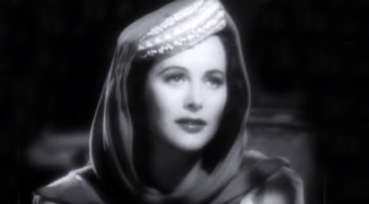 hedy lamarr, austrian american actress, vintage womens hats, hat fashions, movie costumes, 1930s movie fashion, millinery, 1930s films, lady of the tropics, pillbox hat, hat scarves