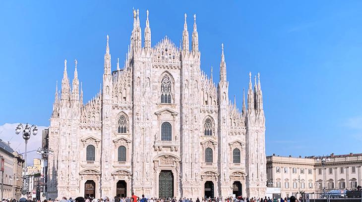 milan cathedral, duomo di milano, piazza del duomo, piazza del duomo, gothic architecture, milan italy, church of milan, candoglia marble, architectural styles