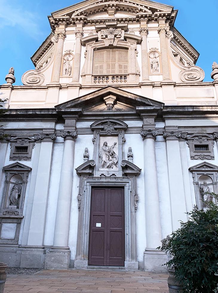 church of saint joseph, chiesa di san giuseppe, church of san giuseppe, baroque architecture, francesco maria richini, milan italy, historical buildings, what to see in milan