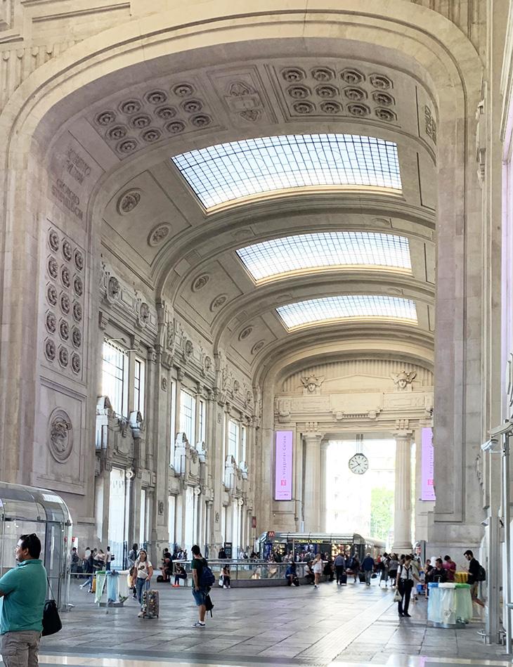 milano centrale railway station, train station, milan italy, italian trains, historical buildings, milan train station interior gallery, italian architecture, marble floors