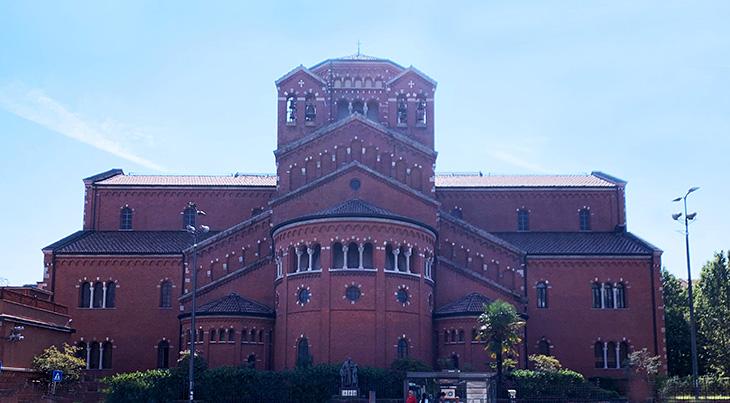 salesian institute santambrogio, milan italy, private school, via copernica buildings, historical buildings