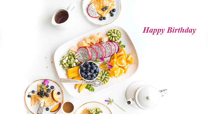 happy birthday wishes, birthday cards, birthday card pictures, famous birthdays, breakfast, blueberries, fruits, coffee, tea, food