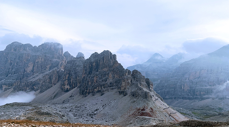 lagazuoi mountains, dolomites, italian alps, northern italy,