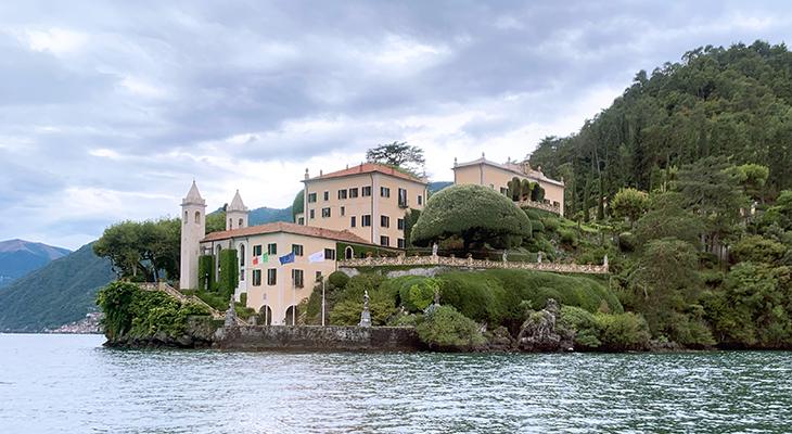 lenno italy, villa del balbianello, lake como villas, italian villas, terraced gardens, lake como wedding venue, franciscan monastery,