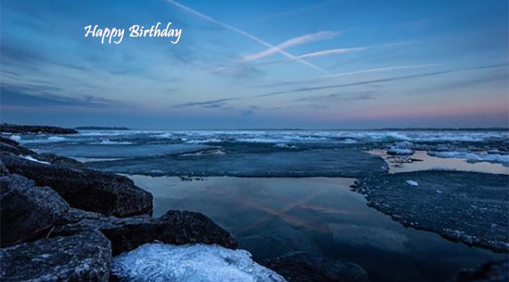happy birthday wishes, birthday cards, birthday card pictures, famous birthdays, sunset, rocks, lake, ontario, kingston
