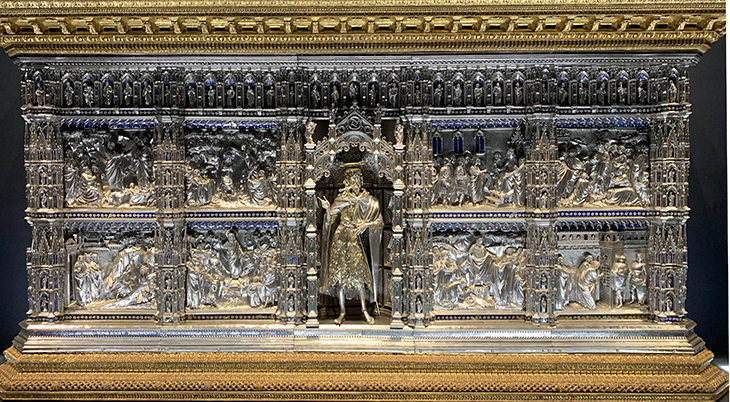 silver altar, treasure of the florence baptistery, saint john the baptist altar, le duomo opera museum, museo dell opera di santa maria del fiore, lopera duomo, baptistery artifacts, florence italy, northern italy, firenze