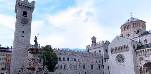 palazzo pretorio, torre civica, medieval castles, northern italy, trento castle, ghibelline embattlements, cathedral of san vigilio, piazza duomo, what to see near trento, what to do in trento, trentino, alto adige,