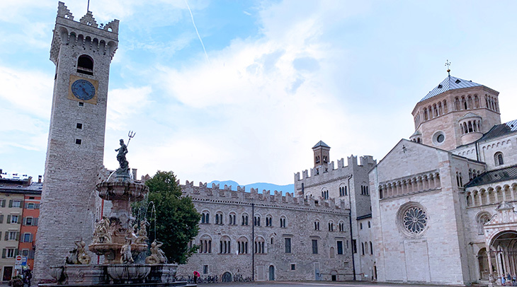 palazzo pretorio, torre civica, medieval castles, northern italy, trento castle, ghibelline embattlements, cathedral of san vigilio, piazza duomo, what to see near trento, what to do in trento, trentino, alto adige,