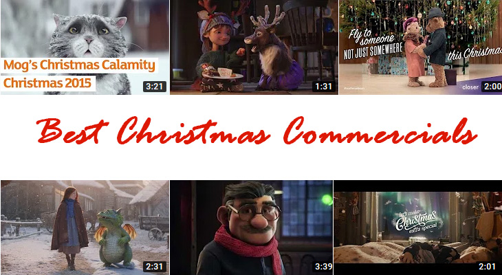 best christmas commercials, animated tv commercials, sentimental advertisements, holiday ads, heathrow airport, christmas bears, mcdonalds uk, christmas reindeer, sainsburys 1914 ad, justino, spain lottery ad, john lewis waitrose commercial, dragon