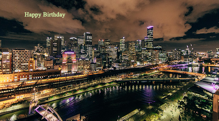 happy birthday wishes, birthday cards, birthday card pictures, famous birthdays, buildings, city, lights, architecture,