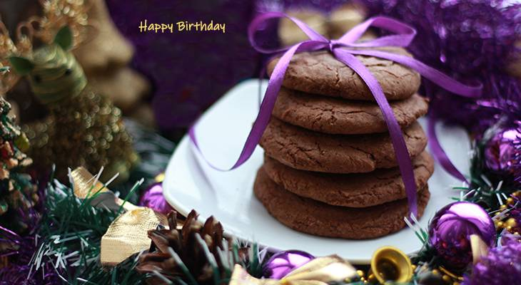 happy birthday wishes, birthday cards, birthday card pictures, chocolate, cookies, christmas, holiday, treats