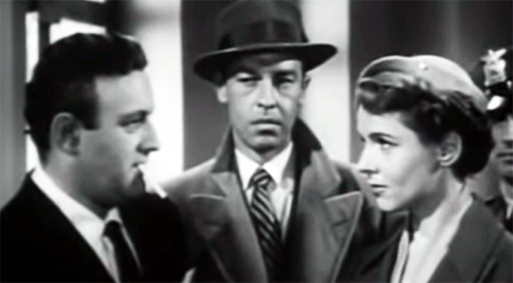 john dall, lee j cobb, jane wyatt, classic movies, 1950s films, the man who cheated himself, film stars, suspense movies,