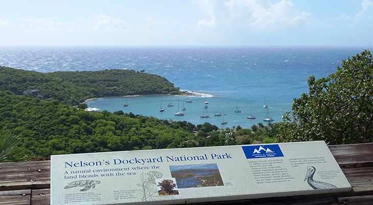 antigua, caribbean island, shirley heights lookout, nelsons dockyard national park